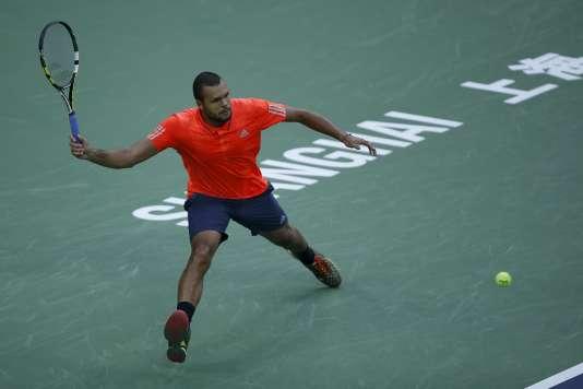 Jo-Wilfried Tsonga battu en finale du Master 1000 de Shanghai par un Novak Djokovic inaccessible, dimanche 18 octobre.