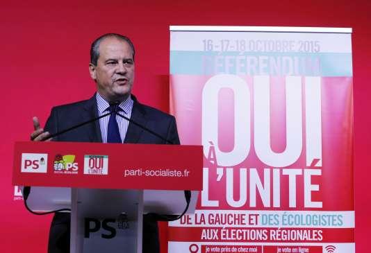 """Jean-Christophe Cambadélis, le premier secrétaire du PS, a affirmé que François Hollande passerait par la primaire """"s'il le souhaite""""."""