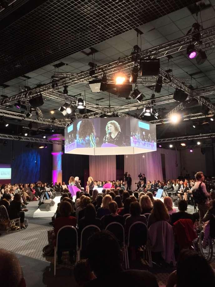 Le Women's Forum s'est tenu du 14 au 16 octobre à Deauville.
