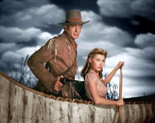 """Gary Cooper et Mari Aldon dans """"Les Aventures du capitaine Wyatt"""", de Raoul Walsh."""