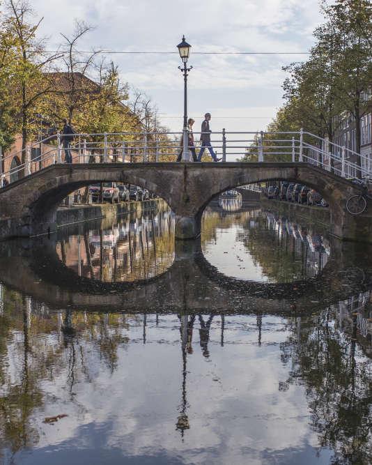 Le long de l'Oude Delft.