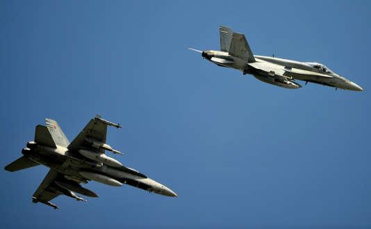 La Russie a affirmé qu'un avion de chasse français s'était approché'd'un appareil transportant une délégation parlementaire russe. Pour Paris, il s'agit d'un F18 suisse.