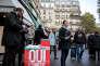 Un point de vote pour le référendum organisé par le PS, marché Maubert, dans le 5earrondissement de Paris, samedi 17 octobre.