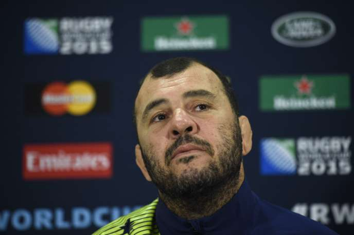 Michael Cheika, le 19 octobre à Teddington.