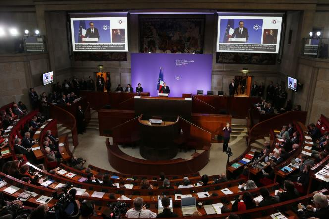 Discours d'ouverture de la Conférence sociale pour l'emploi, le 19 octobre à Paris.