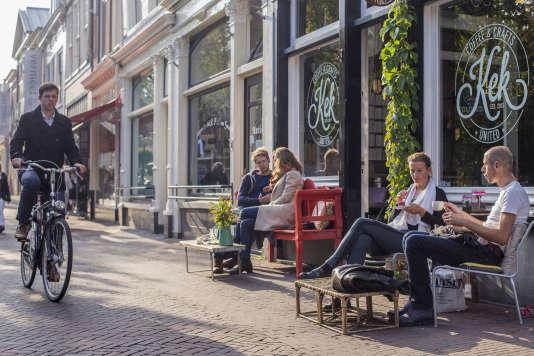 Le Café et restaurant KEK à Delft.