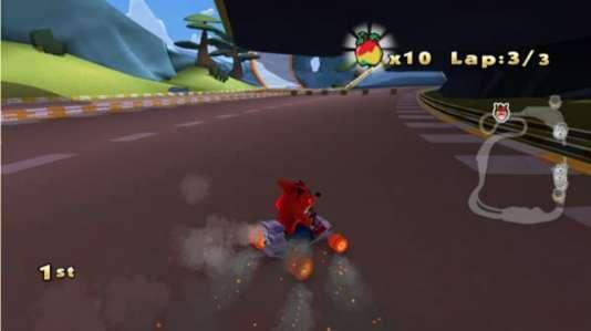 Depuis la fusion entre Activision et Blizzard, à l'exception de quelques jeux mobiles, la série Crash Bandicoot a disparu des linéaires. Ici, un jeu de kart annulé.