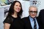 Margaret Bodde et Martin Scorsese lors du New York Film Festival en septembre 2014.
