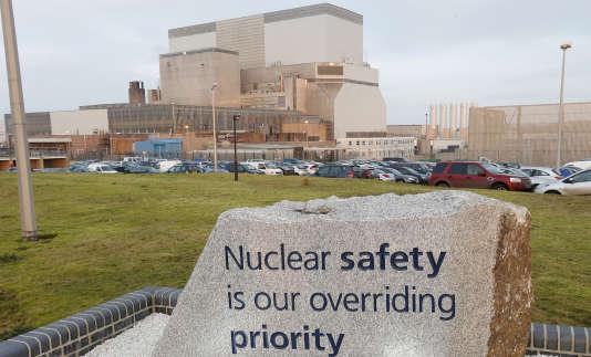 La station nucléaire de Hinkley Point, le 13 décembre 2012.
