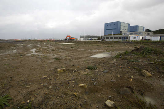 Sur le site de la centrale nucléaire d'Hinkley Point, dans le sud-ouest de l'Angleterre, en octobre 2013.