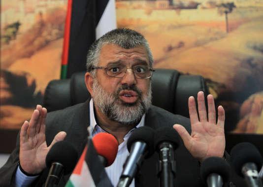 Hassan Youssef, l'un des leaders du Hamas en Cisjordanie, le 10 juin 2014.
