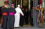 Le pape François, au Vatican, le 20 octobre.