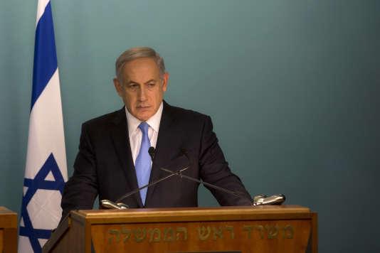 Benyamin Nétanyhaou, à Jérusalem, le 20 octobre.