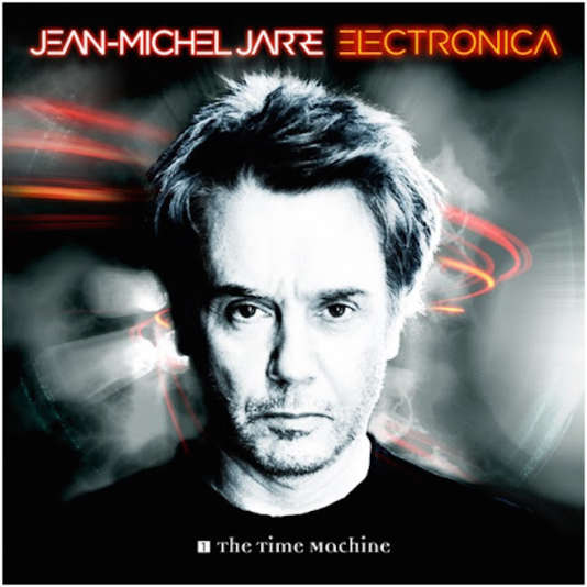 Pochette de l'album « Electronica 1 : The Time Machine », de Jean-Michel Jarre.
