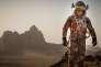 Matt Damon dans le rôle de Mark Watney, un botaniste laissé pour mort sur Mars.