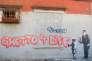 Une oeuvre de Banksy, dans le South Bronx, 2013.