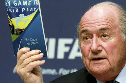 Joseph Blatter, le président de la FIFA, en mai 2011.