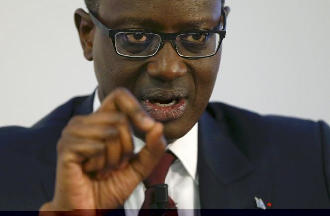Tidjane Thiam, le patron de Credit suisse, le 21 octobre, a refusé de fixer objectif de rentabilité.
