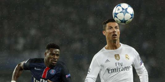 Le PSG de Serge Aurier a été neutralisé (0-0) par le Real Madrid de Cristiano Ronaldo, mercredi 21 octobre.