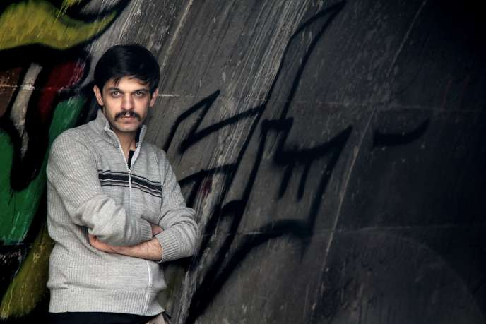 Le cinéaste iranien Keywan Karimi. Cette photo a été transmise par la famille du réalisateur à l'AFP.