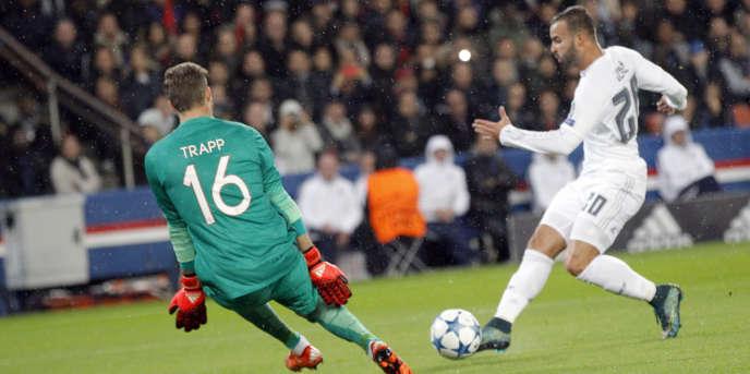 Jesé avait affronté le PSG lors des phases de poules de la Ligue des champions, en octobre 2015.