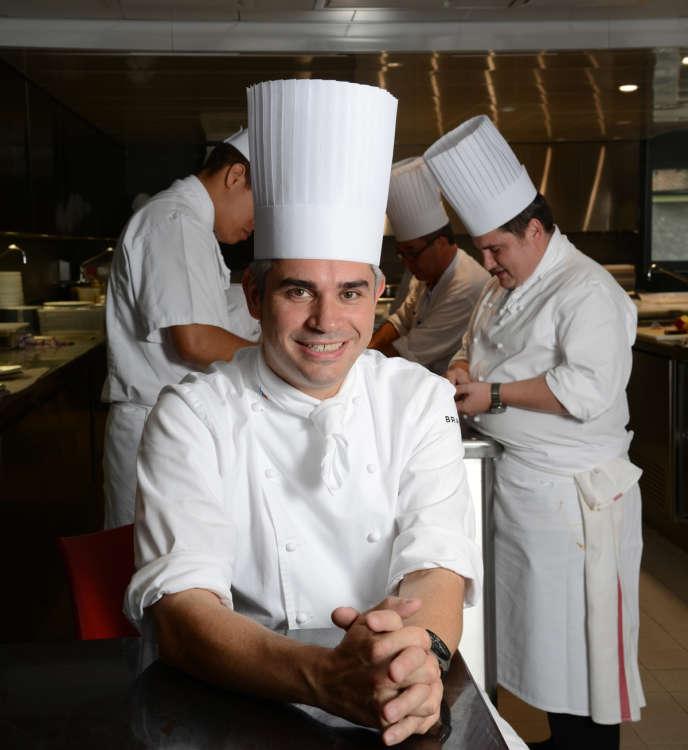 Benoît Violier, chef du restaurant de l'Hôtel de ville à Crissier, en Suisse.