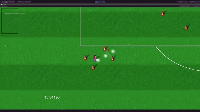 Le prototype de 2014 de Kick Off Revival, celui qui a été montré à Sony, réutilise les dessins de footballeurs d'antan. Dino Dini est actuellement en train de modéliser de nouvelles versions, plus modernes.