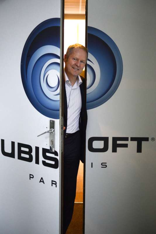 Yves Guillemot, cofondateur d'Ubisoft et actuel PDG, à Montreuil, le 13 décembre 2013.