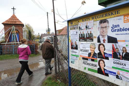 A Katy Wegierskie, près de Varsovie, le 22 octobre.