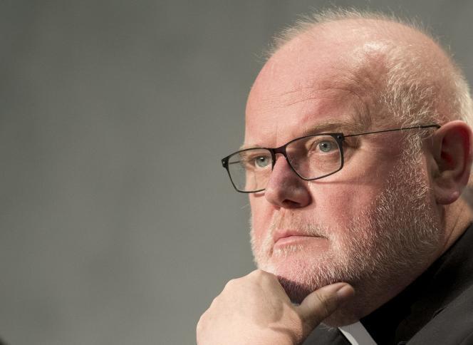 Le cardinal Reinhard Marx, 62 ans, figure de proue des « réformistes ».