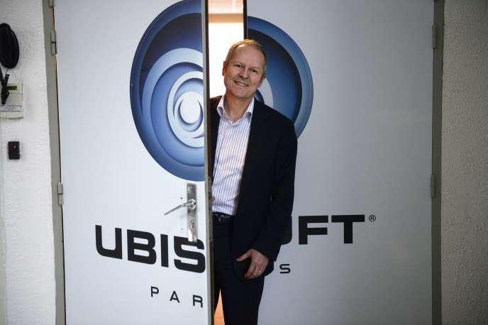 Yves Guillemot, le PDG d'Ubisoft.Désormais, la famille Guillemot détient 12,84% du capital de son entreprise et 18,91% des droits de vote.