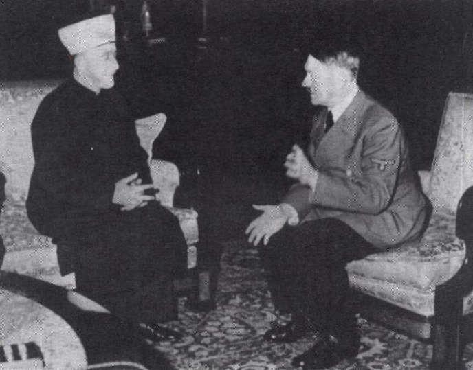 Adolf Hitler et le grand moufti de Jérusalem, Hadj Amine Al-Hussein, le 30 novembre 1941.
