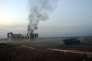 Le 17octobre, sur le mont Azzan, à 24km d'Alep, après un tir des forces d'opposition à Bachar Al-Assad.