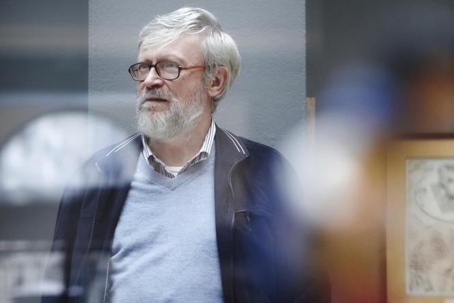 Jean-Arnold Schoofs chez Sotheby's à Paris, le  21 octobre 2015.