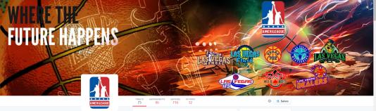 Bannière du compte Twitter de l'AmeriLeague
