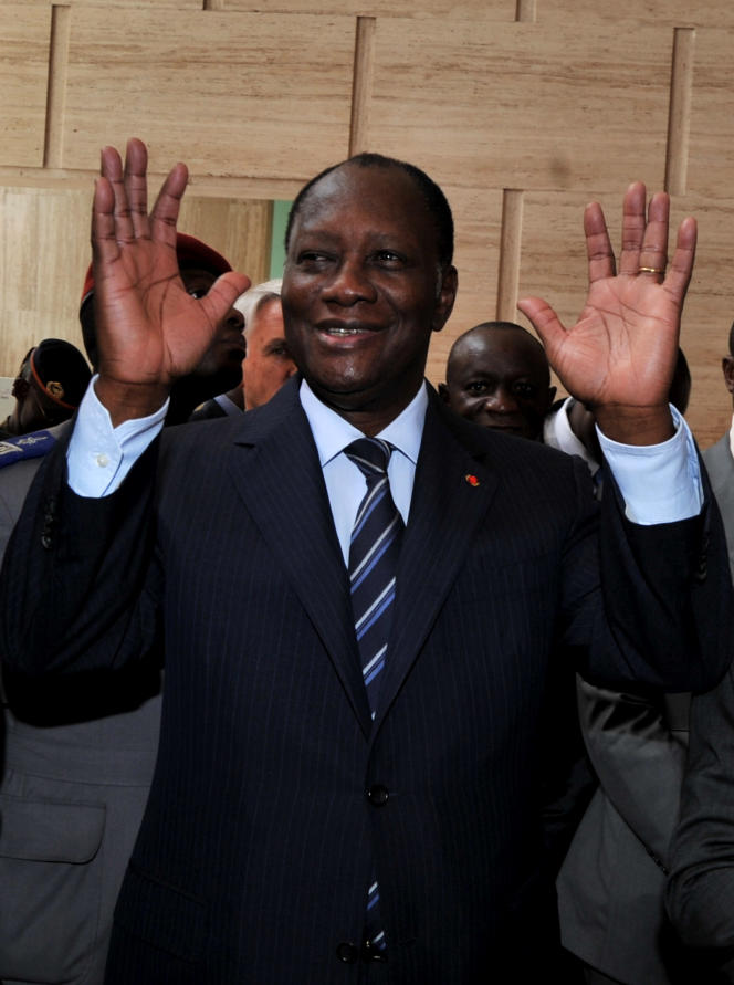 Alassane Ouattara brigue un second mandat à la tête de la Côte d'Ivoire.