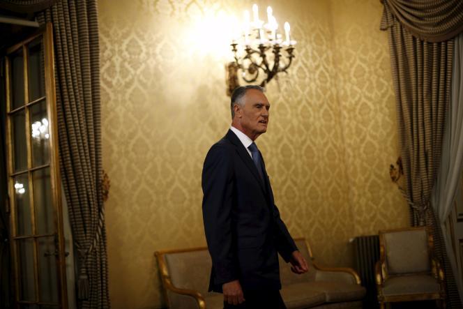 Le président portugais Anibal Cavaco Silva, à Lisbonne, le 22 octobre.