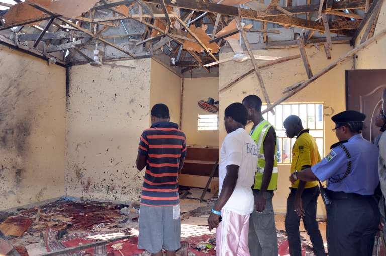 Un attentat a visé une mosquée de Maiduguri, dans le nord-est du Nigeria, le 23 octobre.