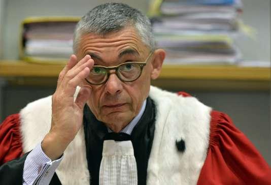 L'avocat général Olivier Tcherkessoff, vendredi 23 octobre à Angers.