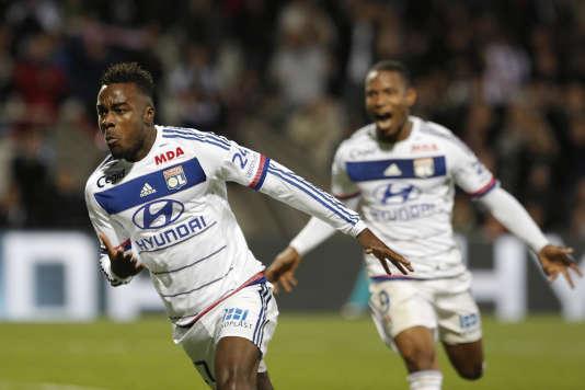Les Lyonnais célèbrent leur victoire, le 23 octobre.
