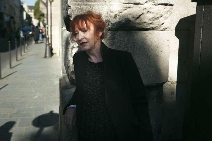 Nicole Courtois-Higelin à Paris en octobre 2015.