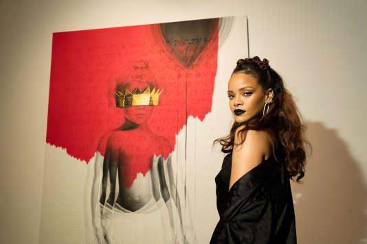 La chanteuse Rihanna à Los Angeles, le 7 octobre 2015.