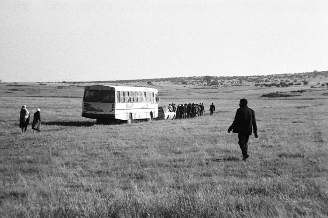 "Chief More's Funeral, GaMogopa, from ""Bloemhof,"" Santu Mofokeng ,1989."