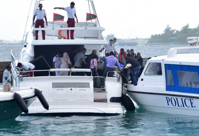 A la fin de septembre, le président était sorti indemne de l'explosion de son yacht, au moment où il s'amarrait à un quai de la capitale.
