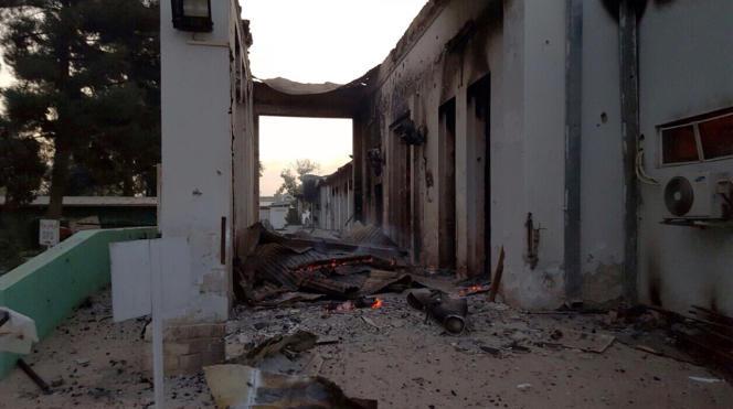 Le bombardement américain de l'hôpital de Kunduz, en Afghanistan, dans la nuit du 3 au 4 octobre, a fait au moins 30 morts.