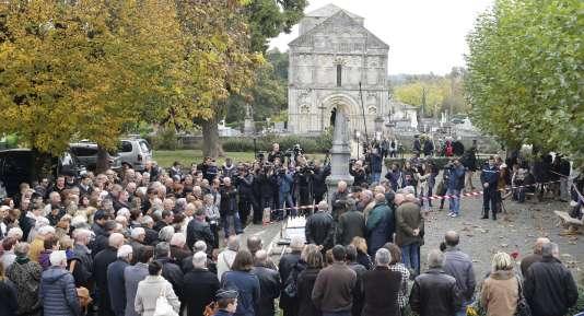 Journée de recueillement, dimanche 24 octobre, à Petit-Palais, en Gironde.