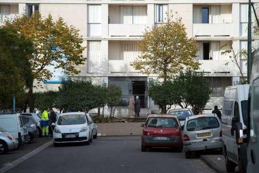 La fusillade s'est produite dans le quartier des Lauriers, à Marseille.