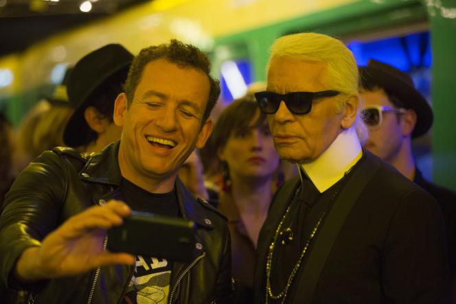 Dany Boon et Karl Lagerfeld dans le film français de Julie Delpy,