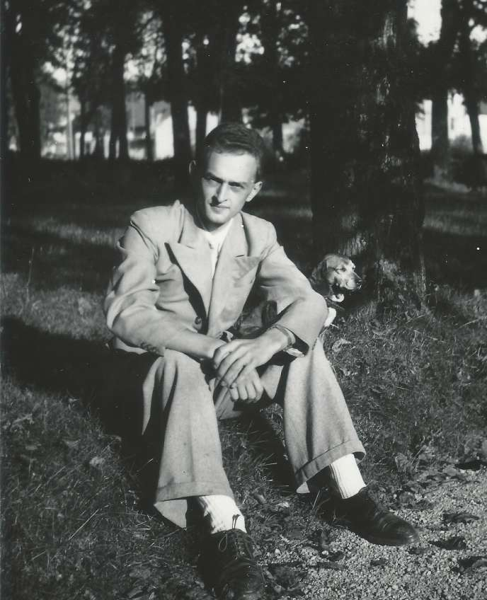 Louis Legrand vers 1945.