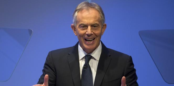 Tony Blair, le 6 octobre à New York.